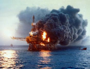 North Sea gas leak threatens repeat of Piper Alpha oil rig ...