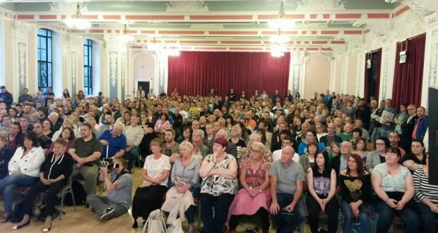 Hundreds packed into the Hope Over Fear public meeting in Dundee