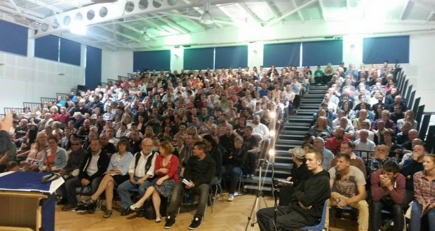Over 18,000 people have attended Hope Over Fear public meetings to hear socialist Tommy Sheridan.