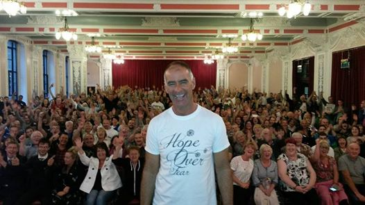 Tommy Sheridan at a Hope Over Fear - Socialist Campaign for Independence meeting in Dundee