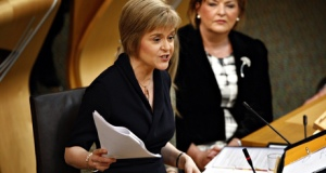 New SNP leader and First Minister, Nicola Sturgeon