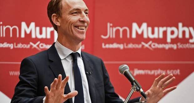 Scottish Labour's new leader is the right wing MP, Jim Murphy