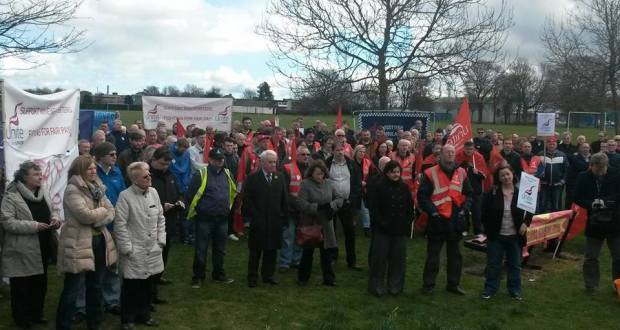 Unite rally March 20 in Dundee