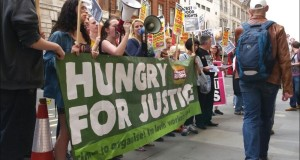 Hungry for Justice living wage protest