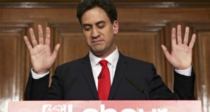 Defeated Labour leader, Ed Miliband