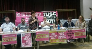 The TUSC conference platform featured an array of those fighting against austerity