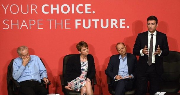 Some of the contenders for the Labour leadership contest.