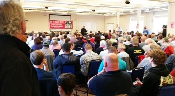 Saturday's TUSC conference