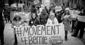 March for Bernie in Chicago