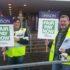Unison pickets in Glasgow